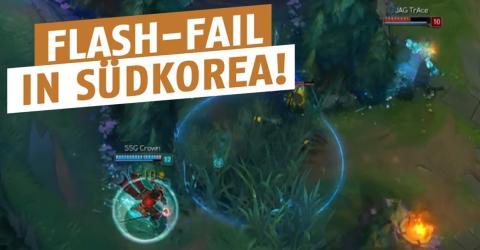 League of Legends: Südkoreaner haut seinen Flash bei den LCK voll daneben