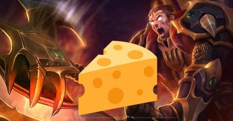 Mehr Cheese: Der neue Build von Support-Darius
