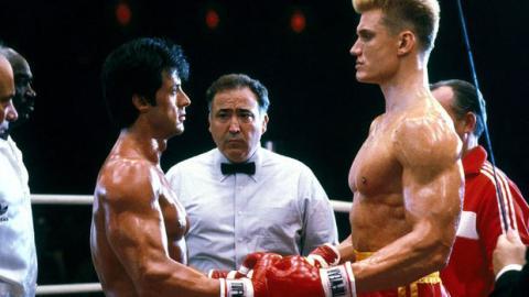 """Sylvester Stallone zeigt unveröffentlichte Bilder von seinem Kampf gegen Ivan Drago in """"Rocky 4"""""""