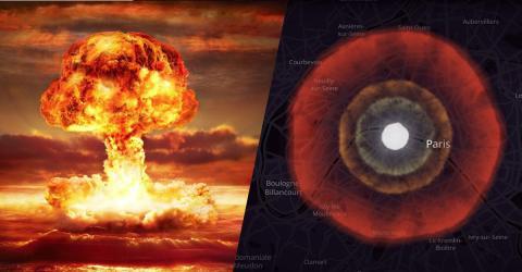 Atombomben-Simulator zeigt die Folgen eines Atomangriffs auf eure Stadt
