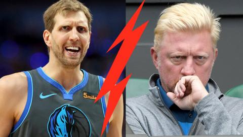 Dirk Nowitzki äußert heftige Kritik im Bezug auf Boris Becker