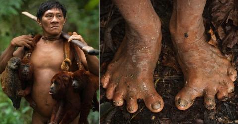 Amazonas-Stamm jagt Affen: Dafür passt sich ihr Körper auf diese erstaunliche Weise an