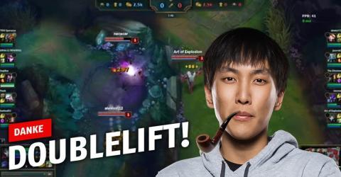 League of Legends: Doublelift gibt Tipps, um eure Bottlane unter Kontrolle zu bekommen