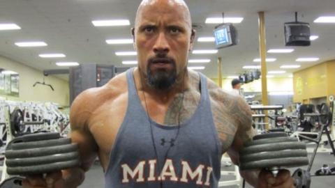 "Muskeltraining mit Dwayne ""The Rock"" Johnson"