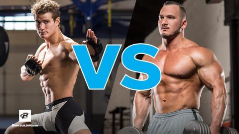 Sage Northcutt lädt einen Bodybuilder zum MMA-Training ein