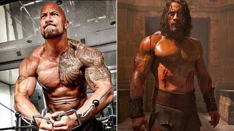 The Rock gibt alles: Das unglaubliche Training von Dwayne Johnson, um Hercules zu spielen