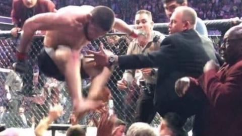 Video: Die Massenschlägerei nach dem Kampf McGregor vs. Nurmagomedov