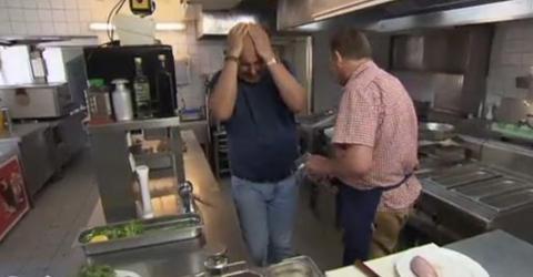 TV-Koch Rosin: Als er das in der Küche erblickt, muss er vor der Kamera würgen!