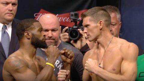 Rückkampfs von Tyron Woodley gegen Stephen Thompson bei der UFC 209