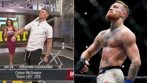 Tyron Woodley und Stephen Thompson ahmen UFC-Kämpfer live im TV nach