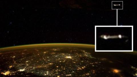 Ein UFO in Nähe des ISS? Astronaut schießt erstaunliches Foto