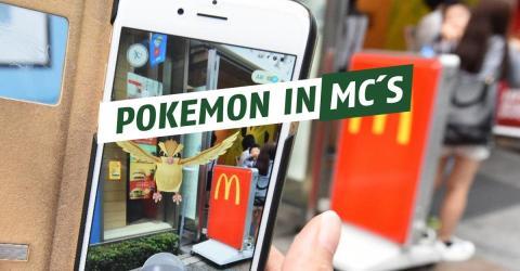 PokemonGo: Die Umsätze von McDonald´s sind angestiegen!