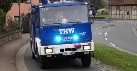 Rettungsgasse: Als die Einsatzkräfte schnell zum Unfall wollen, trauen sie ihren Augen nicht