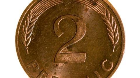 Wertvolle 2-Pfennig-Münze: Wer diese D-Mark noch hat, ist um 5000 Euro reicher