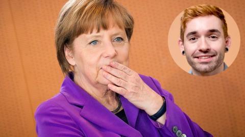 Fall Küblböck: Gerüchte um Rolle von Angela Merkel machen die Runde
