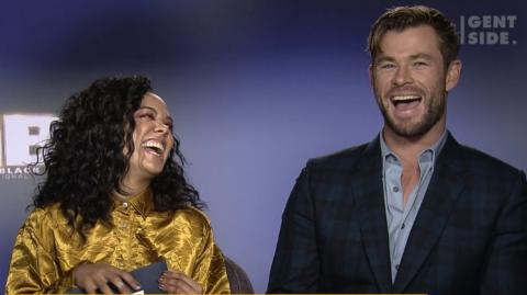 Chris Hemsworth und Tessa Thompson im Gentside-Interview (Video)