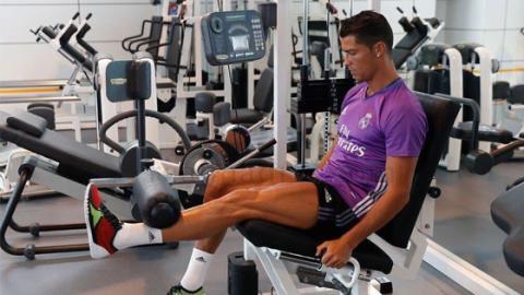 Die unglaubliche Trainingsmaschine von Ronaldo, die von der NASA entwickelt wurde