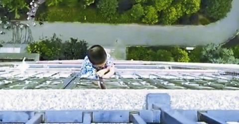China: Im 19. Stock eines Wolkenkratzers beginnt ein Wettlauf gegen die Zeit