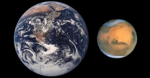 Der Mars kommt so nah an die Erde heran wie seit 15 Jahren nicht mehr
