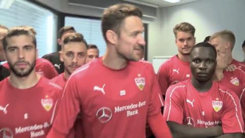 VfB-Stuttgart-Spieler drehen Video, das zur WM um die Welt geht!