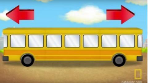 Nur jeder dritte Deutsche erkennt, in welche Richtung der Bus fährt