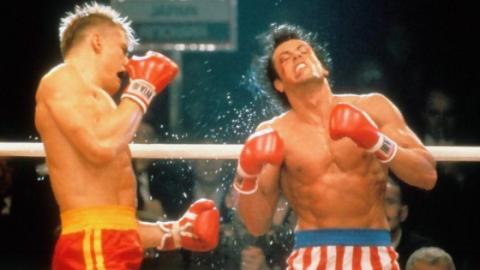 Rocky IV: Sylvester Stallone muss Dreharbeiten abbrechen und ins Krankenhaus