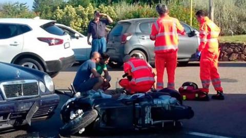 Motorradunfall von George Clooney: Das sind die beeindruckenden Bilder vom Crash