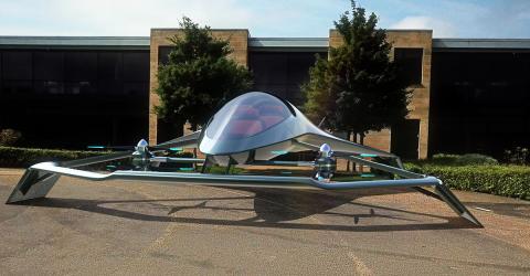 Aston Martin stellt das erste fliegende Auto der Welt vor