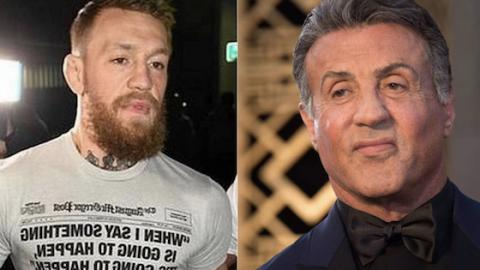 Conor McGregor:  Comeback dank Sylvester Stallone?