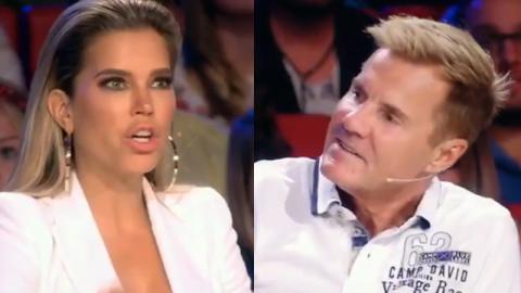 """""""Das Supertalent"""": So reagiert Dieter Bohlen auf das Dekolleté von Sylvie Meis!"""