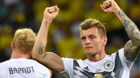 Toni Kroos: So habe ich Deutschland gegen Schweden zum Sieg geschossen