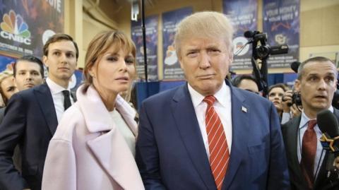 Donald Trump soll seine Frau Melania schlecht behandelt haben