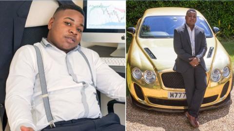 Robert Mfune war mit 16 Jahren Kassierer bei McDonald's und mit 19 Multimillionär