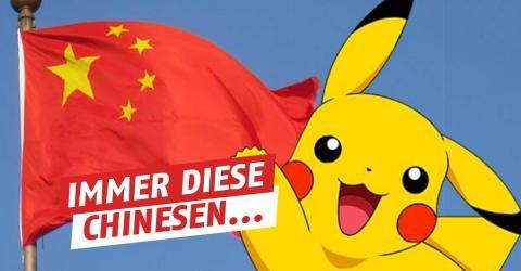 Aus einem absurden Grund ist Pokémon in China immer noch verboten!