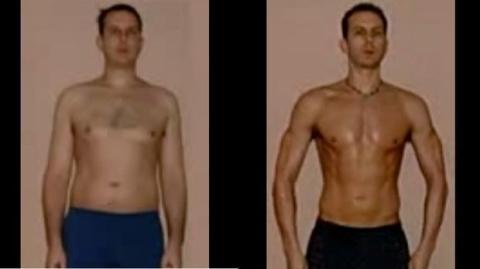 365 Tage Training! Sein Körper verwandelt sich komplett in nur einem Jahr