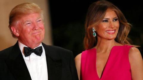 Die Trumps haben das Weiße Haus weihnachtlich geschmückt. Da werden wir in Deutschland glatt blass vor Neid