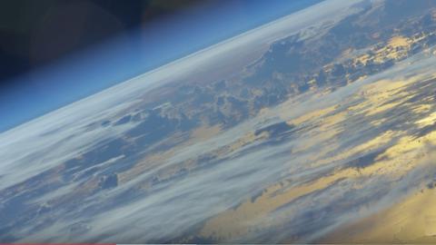 Astronaut macht sensationelles Video der Erde aus dem Weltraum