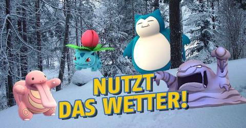 So wird das Wetter bald einen Einfluss auf euer Gameplay in Pokémon GO haben