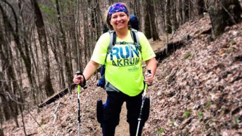 Sie läuft 3500km, obwohl ihre Beine gelähmt sind!