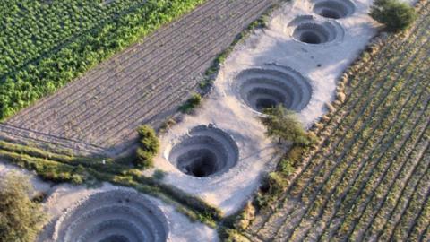 Endlich gelöst! Das Geheimnis der spiralförmigen Riesenlöcher von Nazca