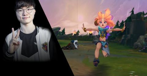 League of Legends: Faker bringt euch die Grundtechnik mit Zoe bei