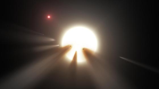 Ein mysteriöser Stern beschäftigt die Forscher!