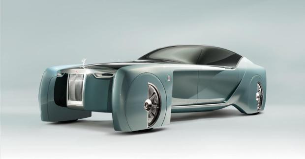 Rolls-Royce Konzept 103EX: Das Luxusauto der Zukunft