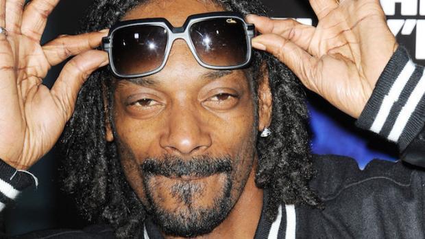 Snoop Dogg raucht auch Cannabis!