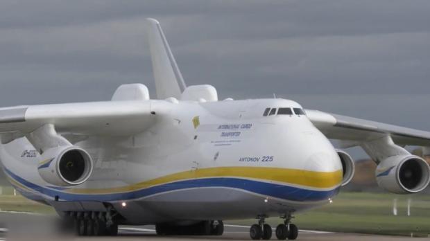 Antonov 225 Mryia in Australien gelandet!
