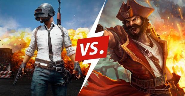 PUBG vs. League of Legends