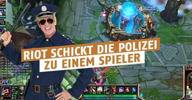 Riot ruft die Polizei!