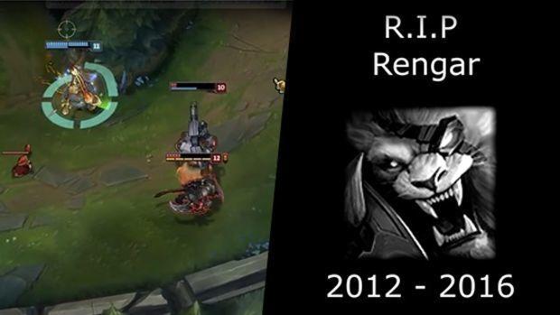 Ruhe in Frieden, Rengar!
