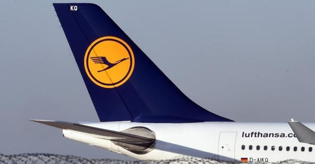 Das altbekannte Lufthansa-Logo