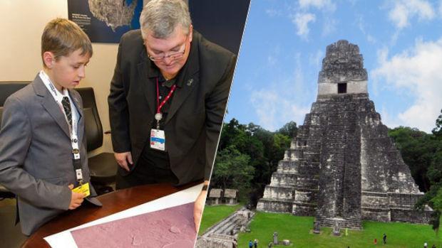 Dieser kanadische Junge liebt die Mayas!